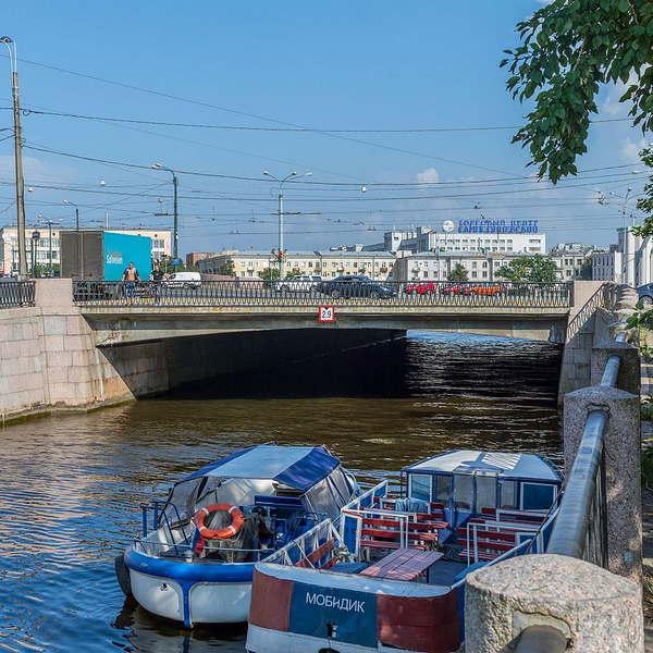 Аптекарский мост в Санкт-Петербурге - фото, описание