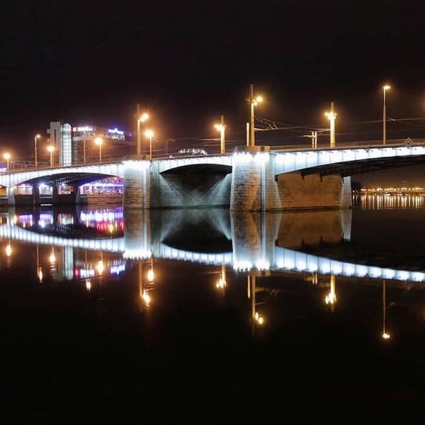 Кантемировский мост в Санкт-Петербурге - фото, описание
