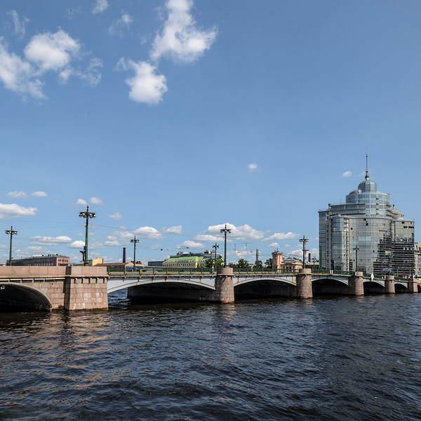 Сампсониевский мост в Санкт-Петербурге - фото, описание