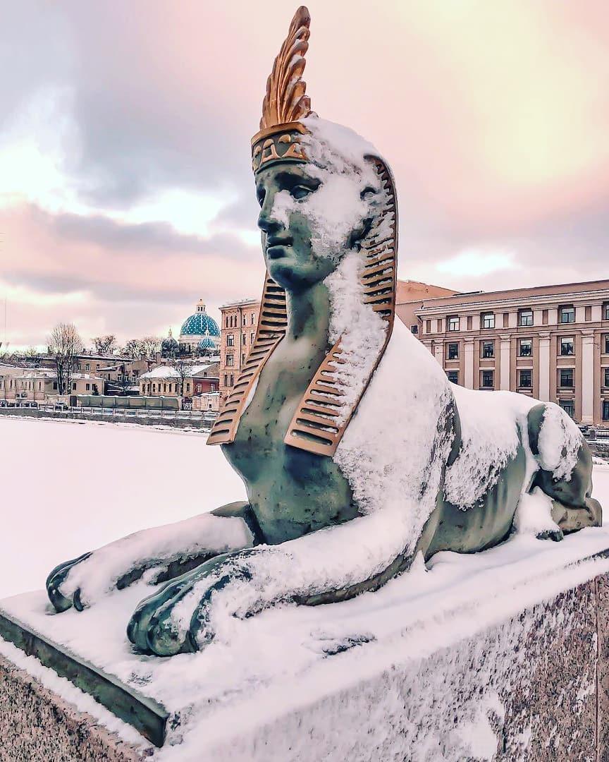 Сфинксы в Санкт-Петербурге - фото, история, где находятся