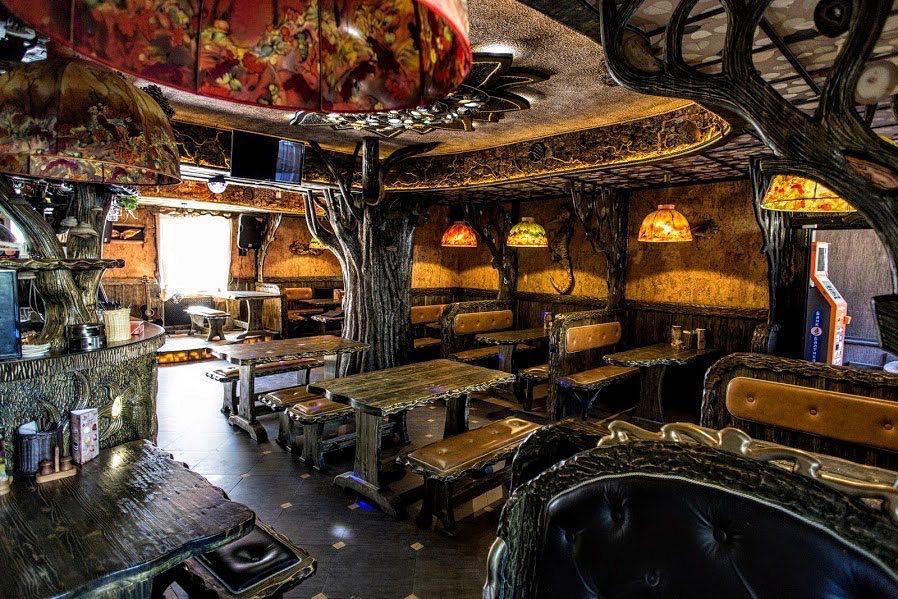7 необычных кафе Санкт-Петербурга - фото, описание