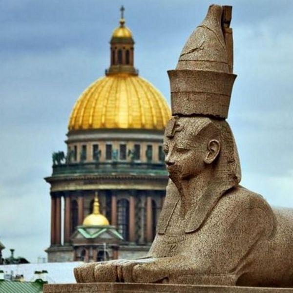 Сфинксы в Санкт-Петербурге - история, фото