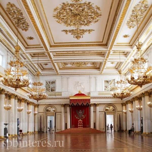 Интерьеры Зимнего дворца - фото, описание