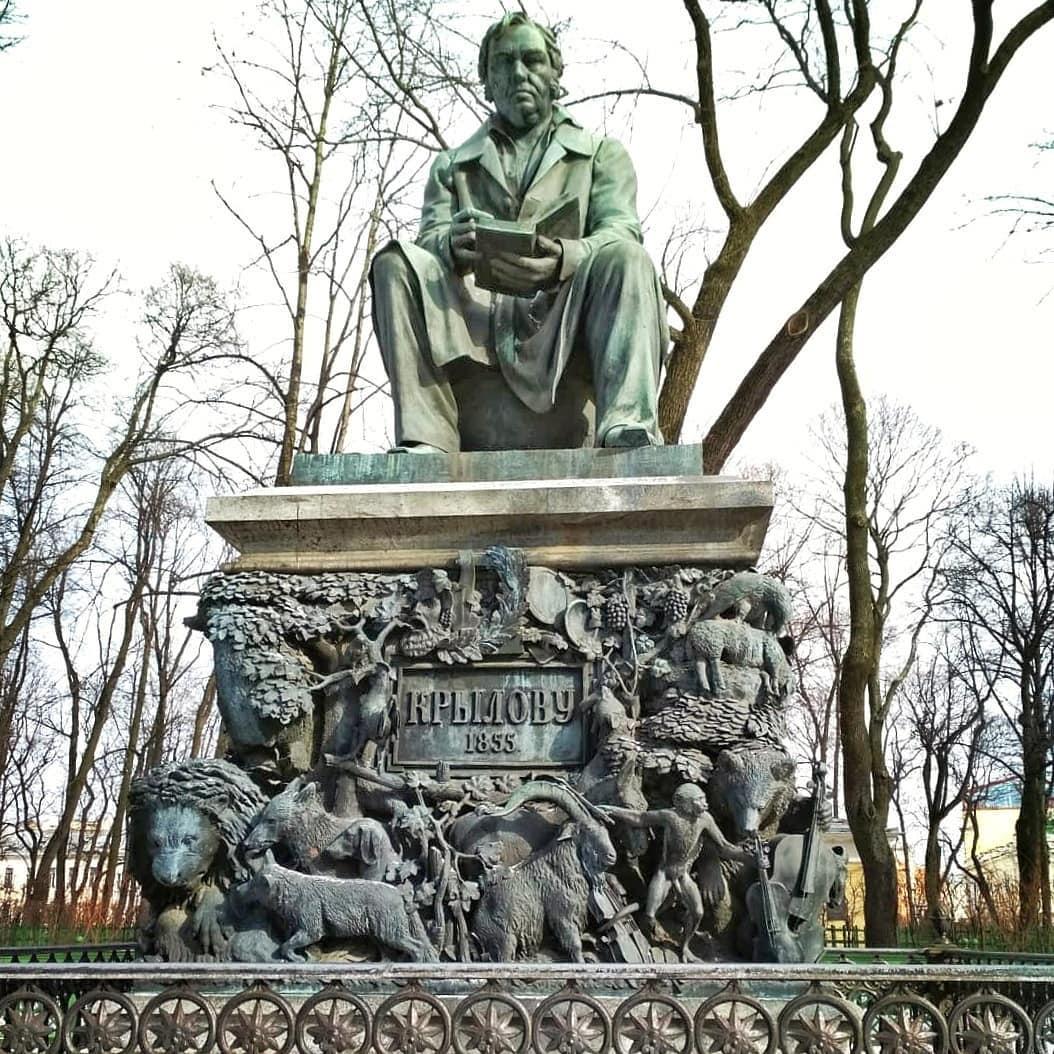 Памятник в Питере