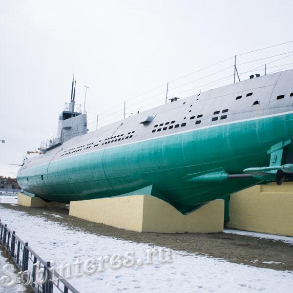 """Подводная лодка """"Народоволец"""", музей """"Д-2"""""""
