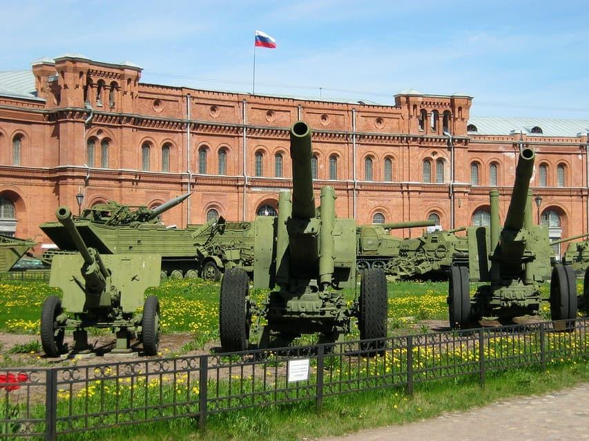 Музей артиллерии в Санкт-Петербурге - фото, описание