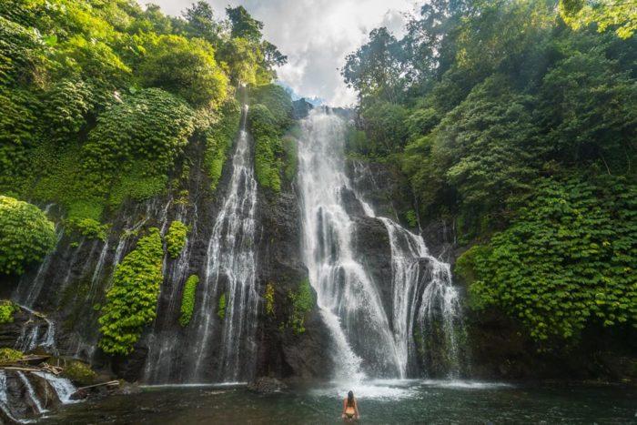 Водопад Баньюмала бали