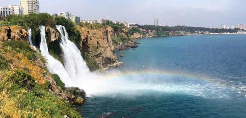 Водопад Нижний Люден в Анталии