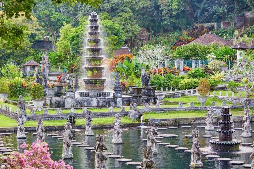 Водные дворцы Бали - фото, цена билета