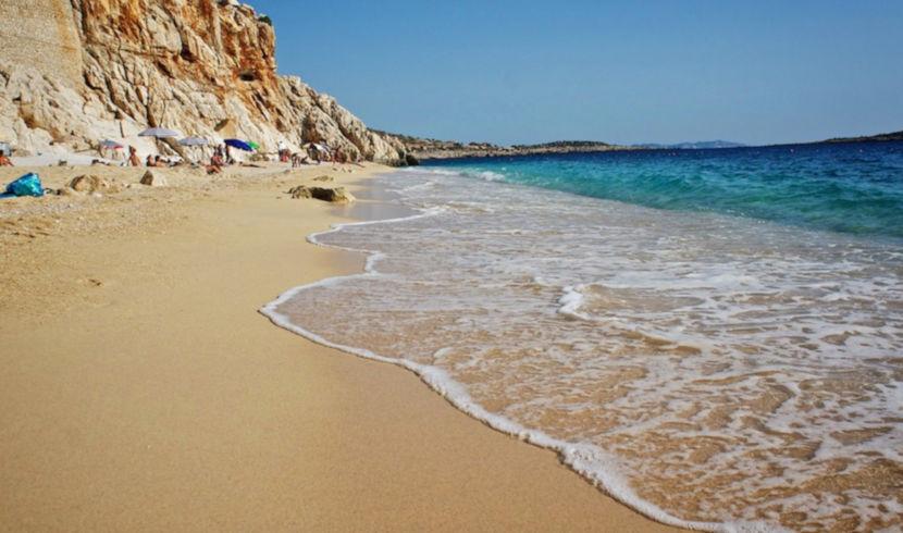 Пляж в Каше