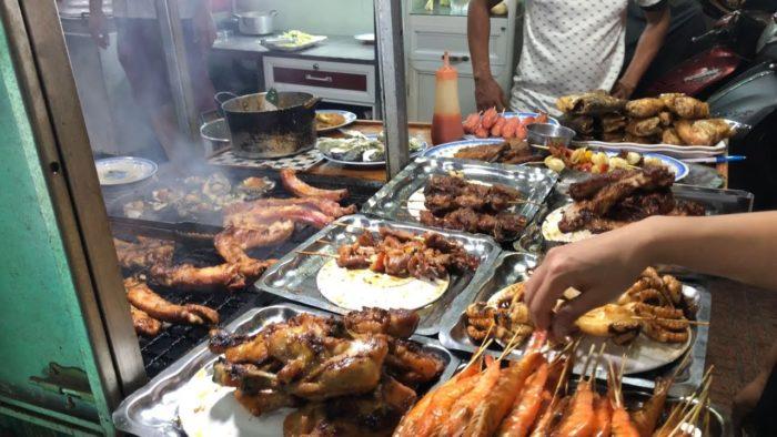 Уличная еда Нячанга