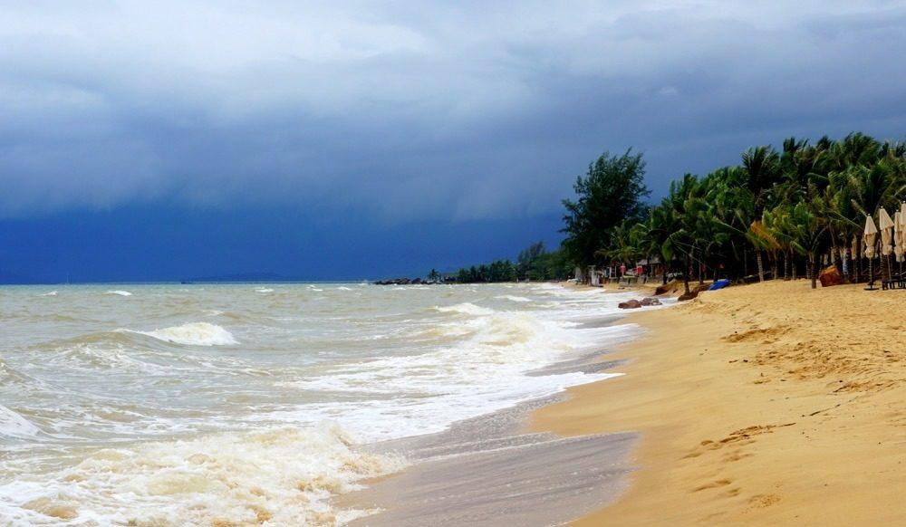 Волну на берегу