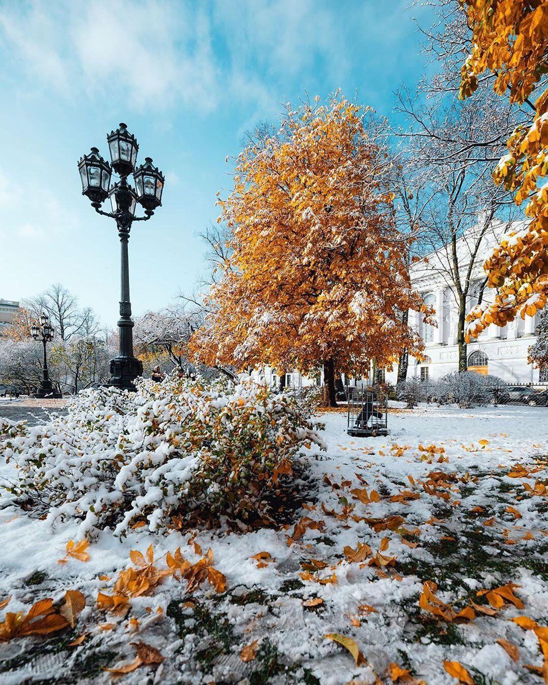 Аномальная погода в Санкт-Петербурге: 10 необычных явлений