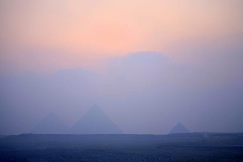 Пирамиды в тумане