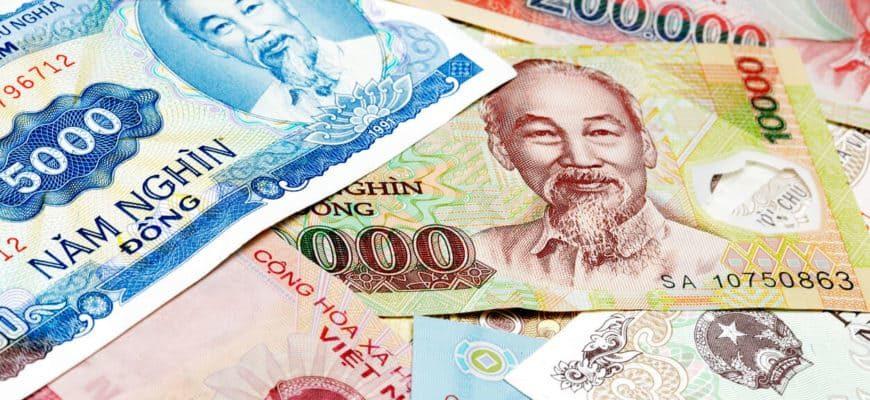 Деньги Вьетнам