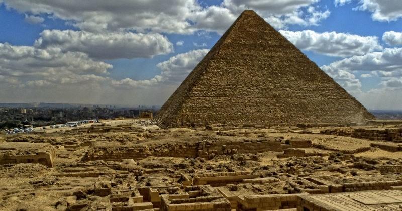Вид на пирамиду