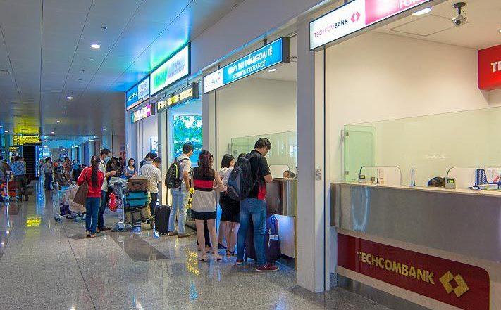 Обмен денег во Вьетнаме