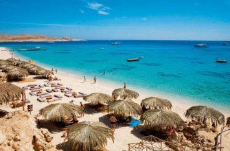 Пляжи Хургады с песчаным входом в море - фото, описание