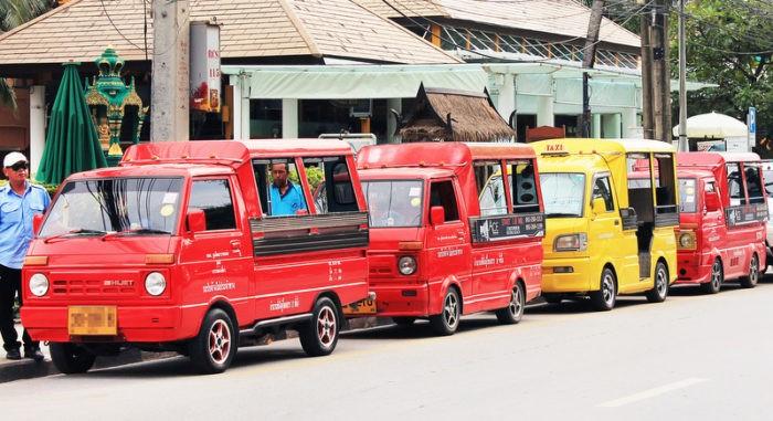 Транспорт на Краби
