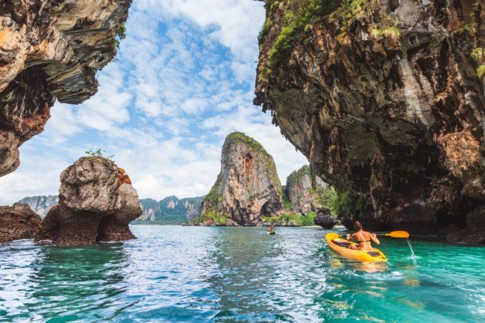 Скалы в Таиланде