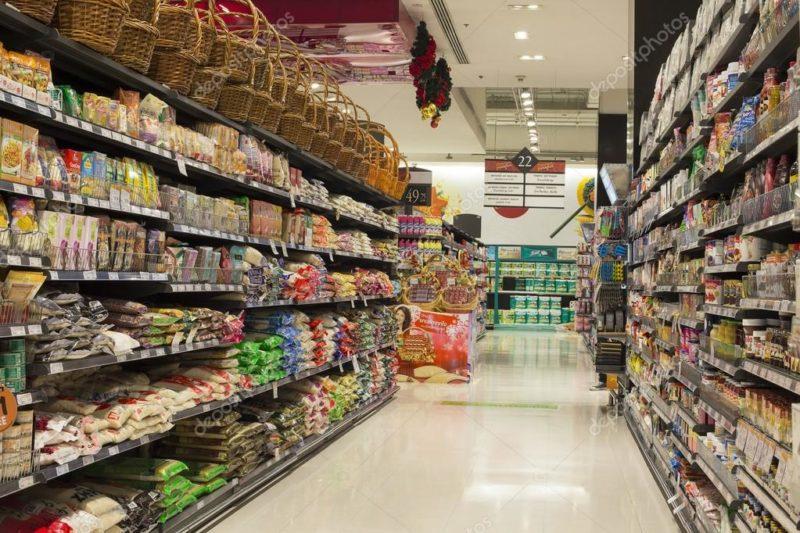 Супермаркет в Таиланде