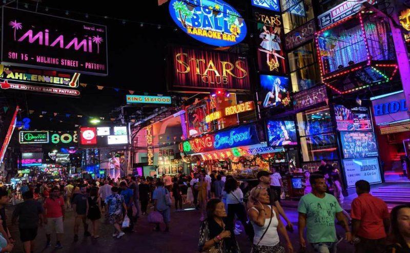 Ночная жизнь в Таиланде