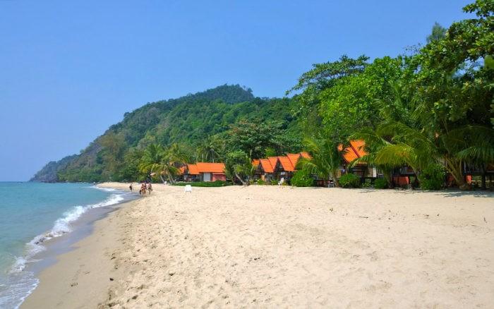 Пляж в Таиланде