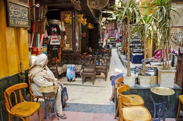 Кафе в Египте