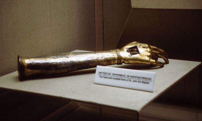 Экспонат в музее Топкапы