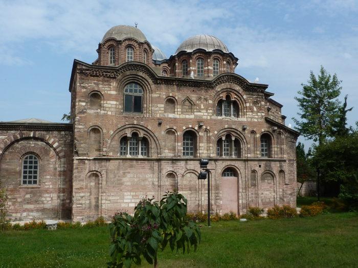 Мечеть Фетхие (Церковь Паммакаристос) Музей в Стамбуле