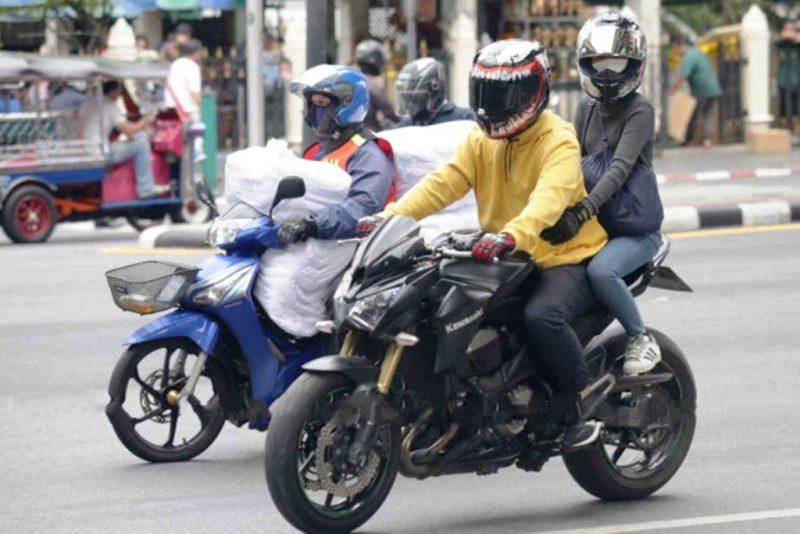 Мотоцикл в Таиланде