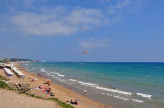 Восточный пляж в Сиде