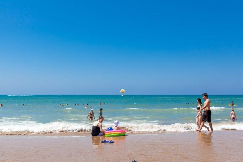 Пляж Чолаклы Сиде