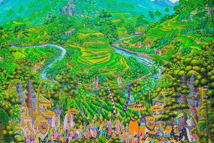 Картины Бали