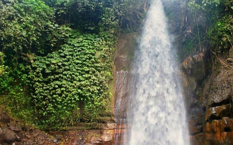 Водопад Бунутин