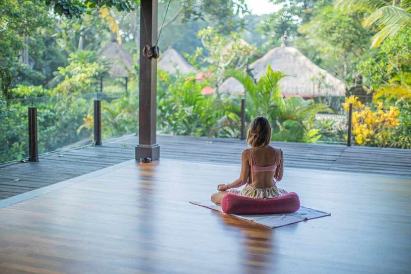 yoga center Expat-run ubud