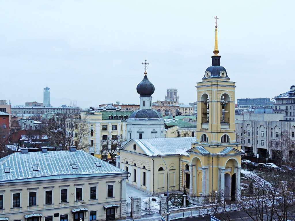 Успенская церковь в Казачьей слободе