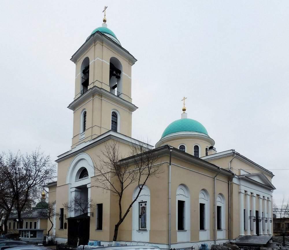 Воскресенская церковь в Даниловой Слободе