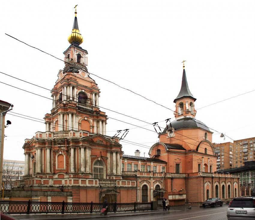 Петропавловская церковь в Новой Басманной слободе