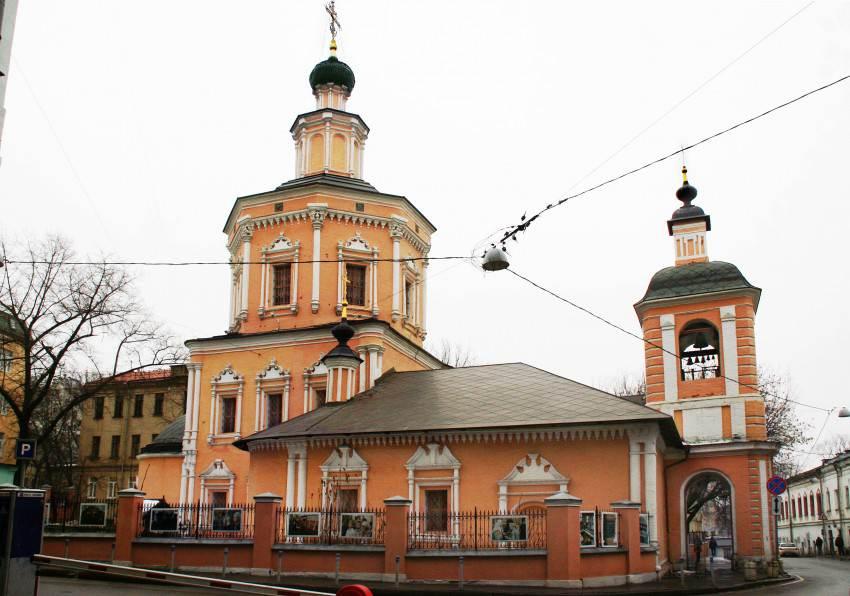 Свято-Троицкая церковь в Хохлах