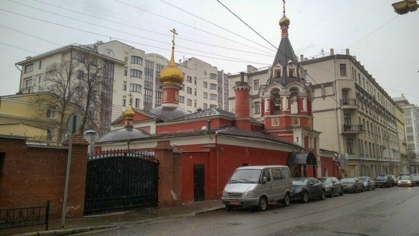 Воскресенская церковь на Арбатской площади
