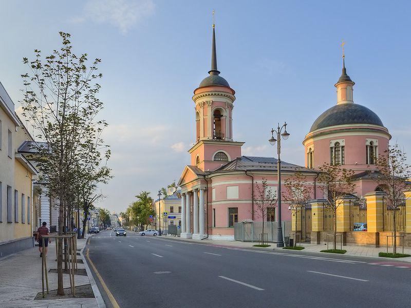 Церковь Богоматери Иверской на Всполье