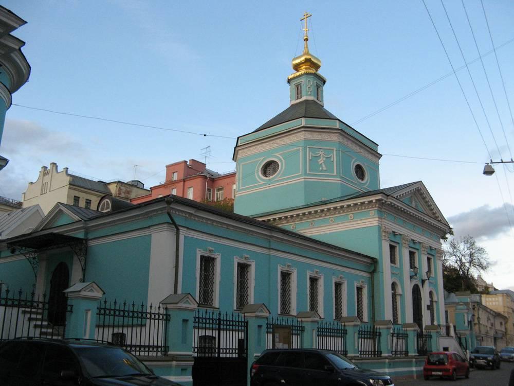 Троицкая церковь в Серебряниках