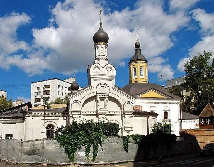 Храм Святителя Николая в Дербенево