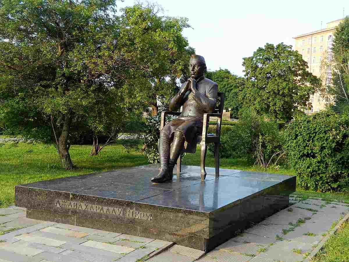 Памятник Джавахарлалу Неру