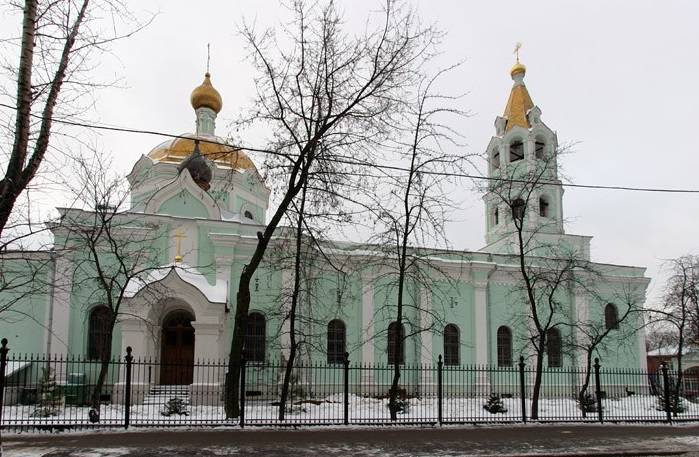 Свято-Никольская церковь на Трех Горах