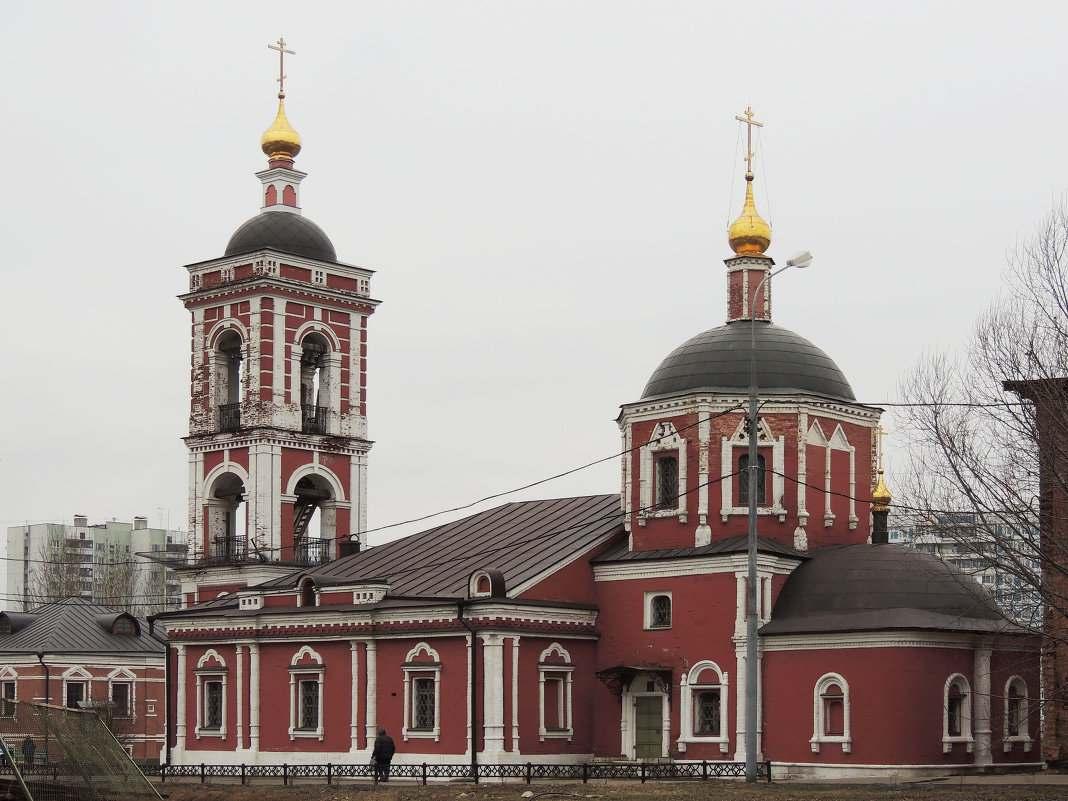 Храм Покрова Пресвятой Богородицы на Донской