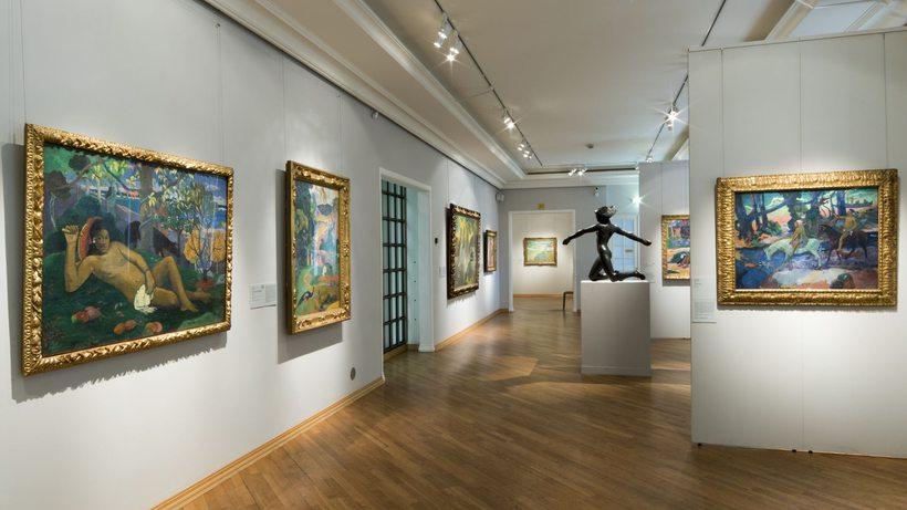 Галерея европейского и американского искусства 19-го и 20-го веков