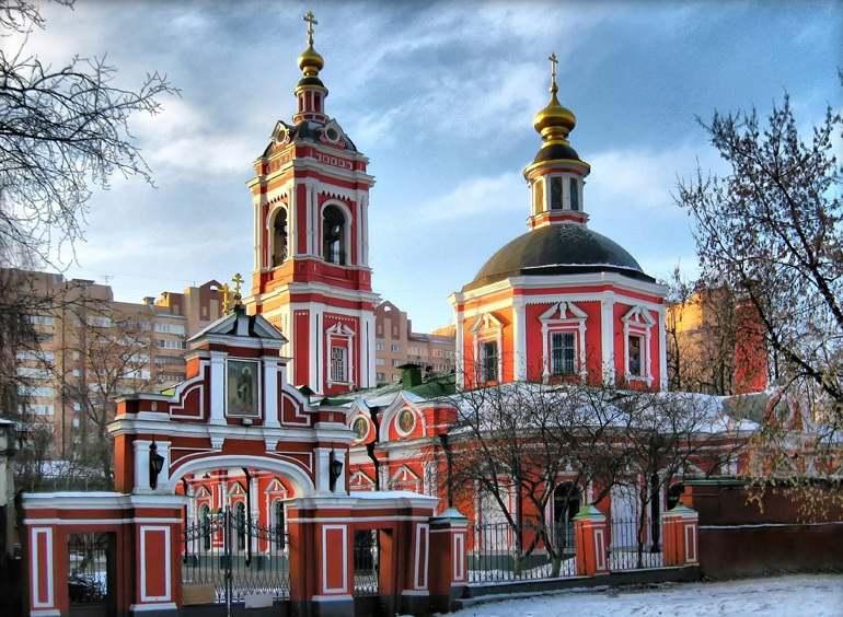 Церковь Святого Пимена в Новых Воротниках