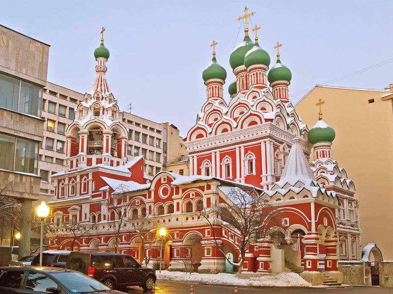 Троицкая церковь в Никитниках
